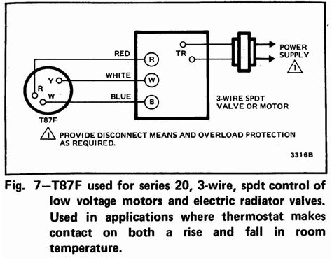 honeywell thermostat wiring diagram 3 wire sle wiring