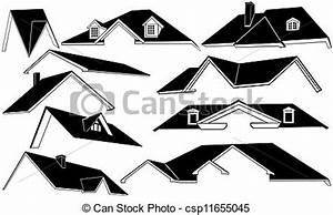 Ensemble Et Toit : dessin de toit ensemble csp11655045 recherchez des ~ Dode.kayakingforconservation.com Idées de Décoration