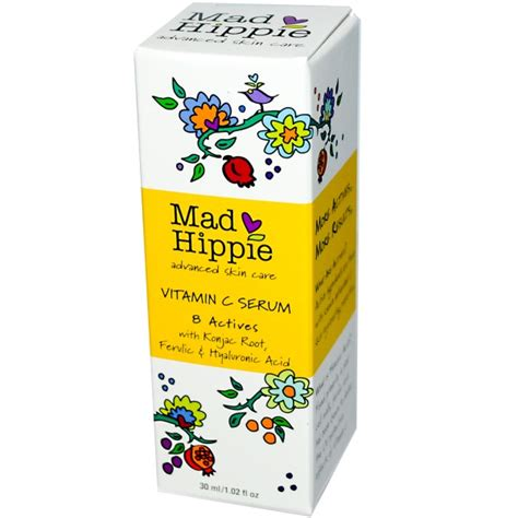 mad hippie skin care products vitamin c serum 8 actives 1 02 fl oz 30 ml iherb