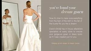 david39s bridal bridesmaid alterations price list 1 youtube With wedding dress alterations cost david s bridal