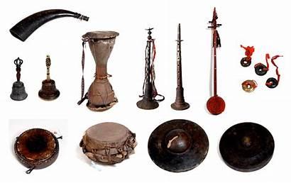 Instruments Musical Shaman Yao China Vietnam Southern
