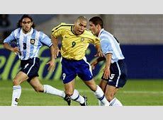 Ronaldo Brazil vs Argentina 3062004 PenaltyHattrick