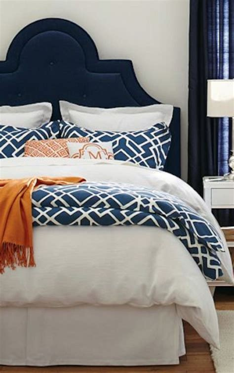 Blue And Orange Bedroom Ideas by Best 25 Navy Orange Bedroom Ideas On Orange