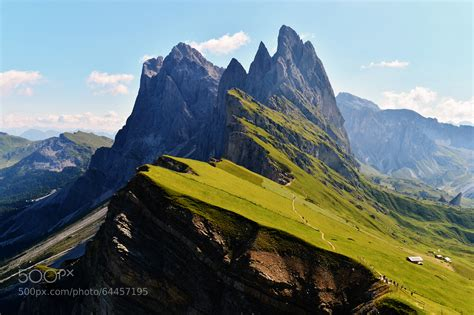 mountain range between and italy photograph the odle mountain range in val gardena italy by angelo ferraris on 500px