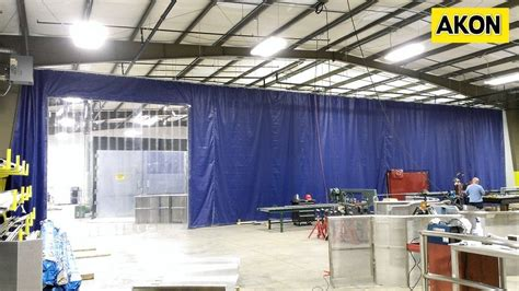 plastic curtain wall rooms