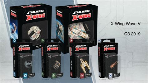 Star Wars X-wing Wave 5 Announced At Star Wars Celebration