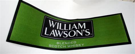 tapis de bar william lawson s pour une collection un bar