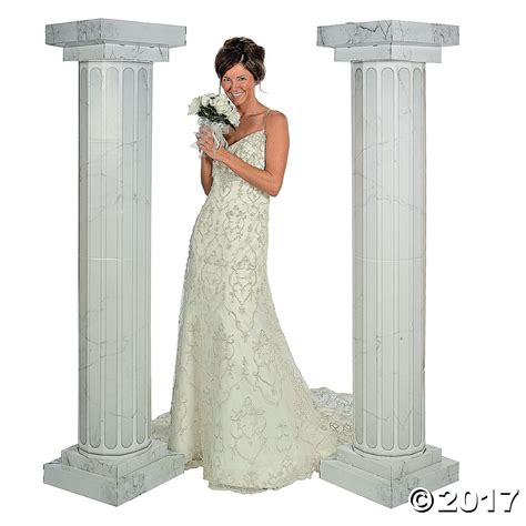Marble Look Fluted Columns 6 Ft Vbs In 2019 Wedding