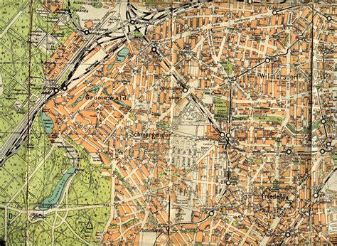 Häuser Kaufen Berlin Alt Hohenschönhausen by Stadtplan Berlin Drucken Karte