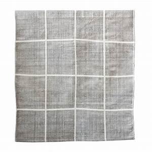 Tapis Scandinave Gris : tapis scandinave en coton lav gris 170x240cm tell ~ Teatrodelosmanantiales.com Idées de Décoration