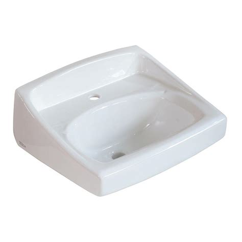 american standard wall hung sink american standard lucerne wall mounted bathroom sink for