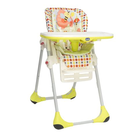 Chicco High Chair Polly 2 In 1 by Chicco Polly 2 In 1 Highchair In Kiddicare
