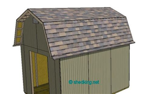 how to shingle a shed roof shed roof gambrel how to build a shed shed roof