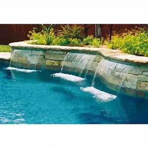 cascade d39eau magicfalls 48 cm l39unite a z piscine With cascade d eau piscine