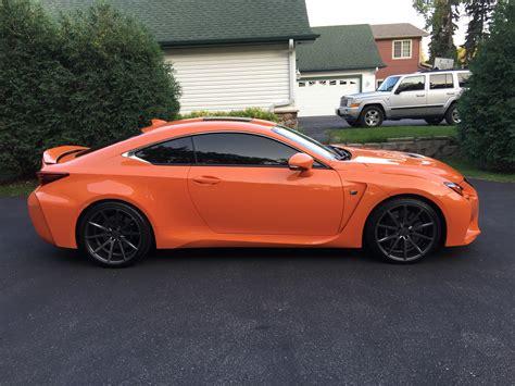 Mn 2018 Lexus Rc F Rwd 467hp Orange Rocket Mint Shape As