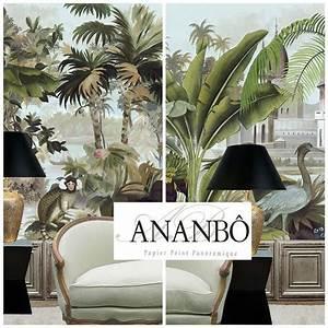 Papier Peint Ananbo : 177 best images about papier peint panoramique on pinterest monkey wallpaper showroom and deco ~ Melissatoandfro.com Idées de Décoration