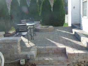 paver patio with fire pit patios pinterest