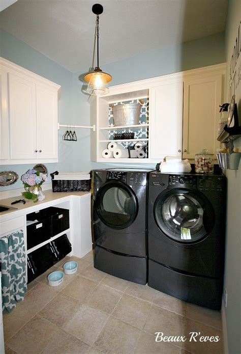 kitchen cheap cabinets inexpensive laundry room makeover 3348