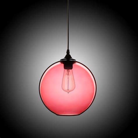 stock modern minimalist glass pendant light globe