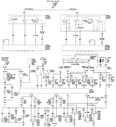 1968 Oldsmobile Cutlas Wiring Diagram by Repair Guides Wiring Diagrams Wiring Diagrams