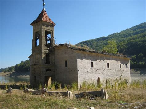 St Nicholas church, Mavrovo, Macedonia | This abandoned ...