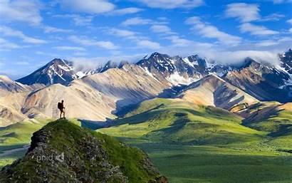 Alaska Hiking National Park Nature Mountain Wallpapers