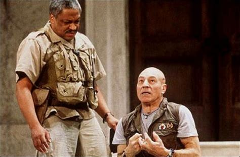patrick stewart othello patrick stewart s white othello 1997 theatre play performance