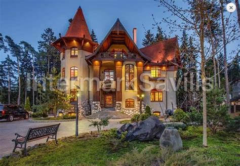 fairy tale  mansion  russia   rent