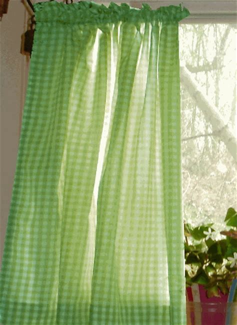 green and white kitchen curtains lime green gingham kitchen cafe curtains 6925