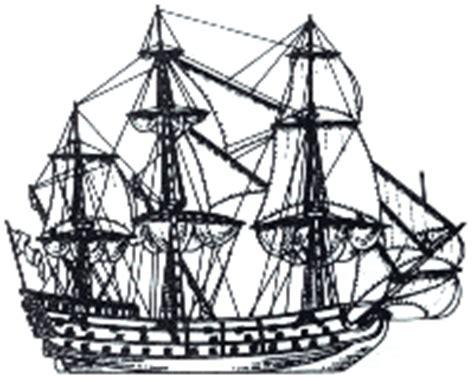 Dessin Bateau Trois Mats Facile by Glossaire Des Navires