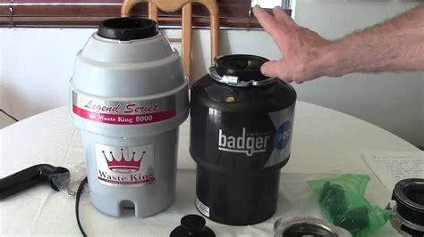 Insinkerator Vs Waste King Garbage Disposal Comparison