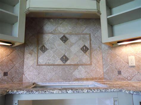 tumbled marble kitchen backsplash tumbled marble backsplash