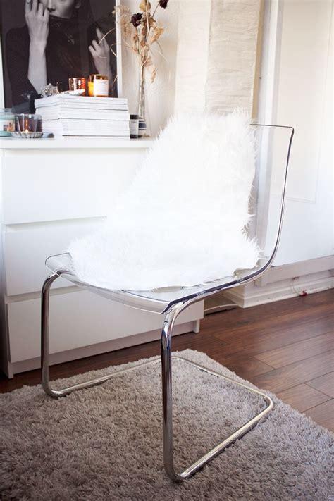 Schminktisch Stuhl Ikea by Ikea Tobias Stuhl Und Das Tejn Lammfellimitat Cozy