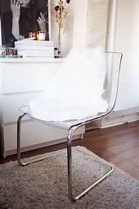 Ikea Stuhl Durchsichtig : ikea tobias stuhl und das tejn lammfellimitat a ~ A.2002-acura-tl-radio.info Haus und Dekorationen