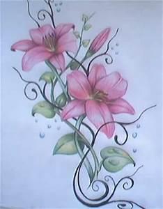 Blumen Bilder Gemalt : sandmann32 nat rlich selbst gemalt und entworfen tattoos von tattoo ~ Orissabook.com Haus und Dekorationen