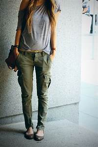 17 Best images about Khaki fashion on Pinterest   Pants Cargo pants and Army green