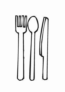 Messer Und Gabel : ausmalbilder gabel l ffel messer speisen und essen malvorlagen ausmalen ~ Orissabook.com Haus und Dekorationen