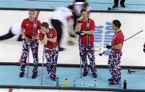 Norwayu0026#39;s curling team brings back the crazy pants