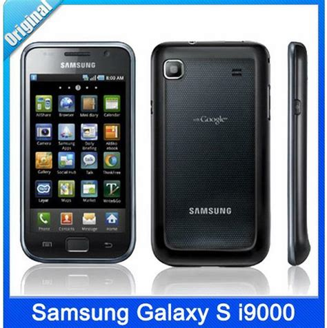 original samsung galaxy s i9000 mobile phone 4 0 quot touch screen wifi gps android ebay
