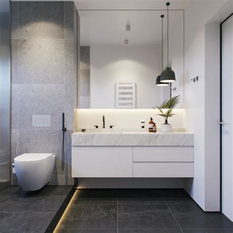 36 modern grey white bathrooms that relax mind body soul