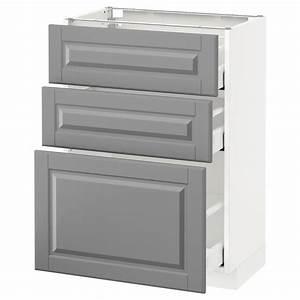 Tv Unterschrank Ikea : metod maximera unterschrank mit 3 schubladen wei bodbyn grau ikea ~ Watch28wear.com Haus und Dekorationen