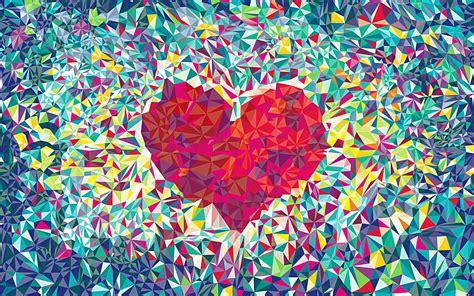 Love Heart Pattern Wallpapers HD / Desktop and Mobile