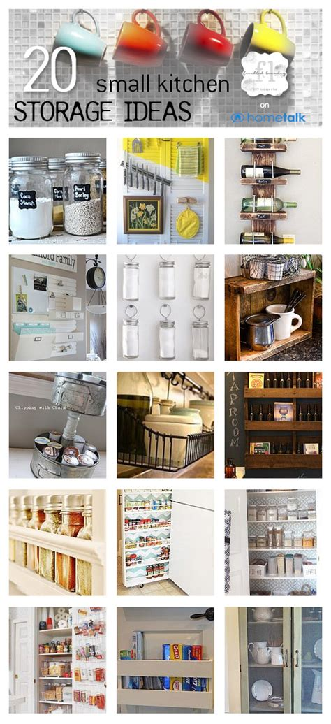 tiny kitchen storage ideas 20 small kitchen storage ideas