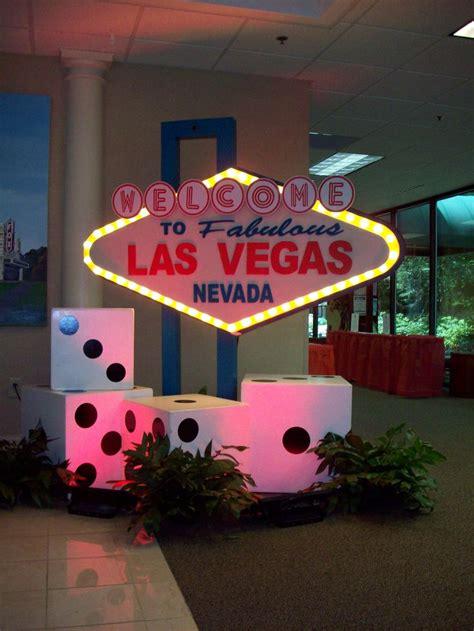 vegas decorations ideas  pinterest casino