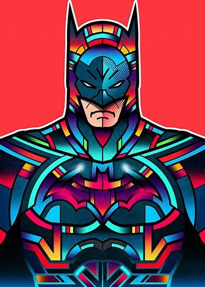 Orton Dc Superheroes Batman Wondercon Comics Superhero