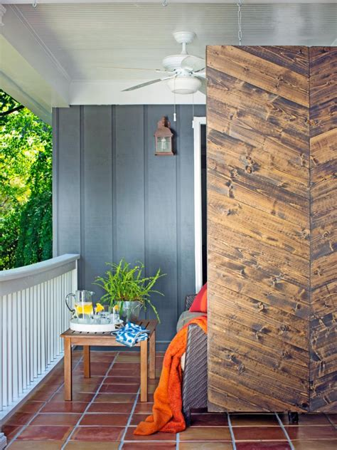 screened back porch modern privacy fence ideas for your outdoor space