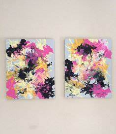 Abstract Flow Art Fluid Painting Purple Lilac Art Original