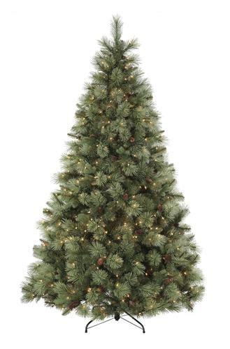 menards artificial trees 7 5 ft prelit ponderosa pine tree at menards 174