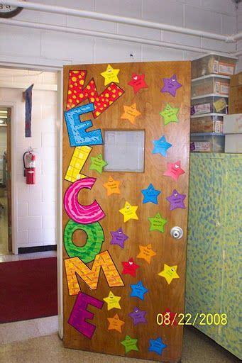 welcome door display learningenglish esl