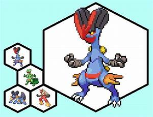 Swampert Blaziken Sceptile by thepants1 on DeviantArt